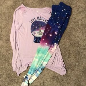 Girls Justice Long Sleeve Outfit